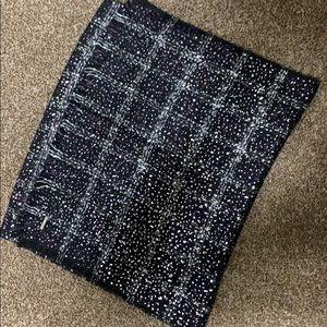 Brand new Michael Kors blanket scarf reversible